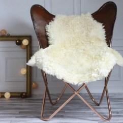Sheepskin Rug On Chair 1 2 Chaise Sale Genuine Gotland Breed Pelt