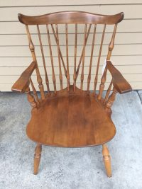Antique Maple Nichols and Cochran Windsor Chair by ...