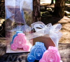Two Cinderella Carriage Soap Favors | Disney Wedding favor