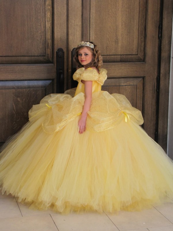 Disney Belle Costume Dress Beauty And Beast
