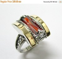 Valentines Day SALE Vintage Cocktail Rings cubic by ...