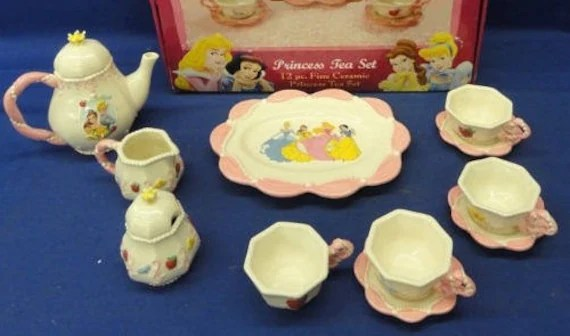 Porcelain Princess Tea Set