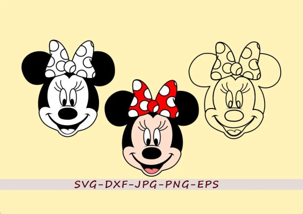disney character svg