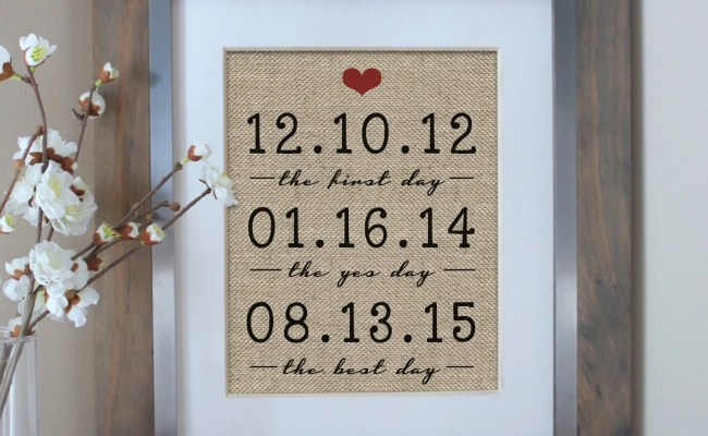 Personalized Anniversary Gifts For Wife Gifts For Husband