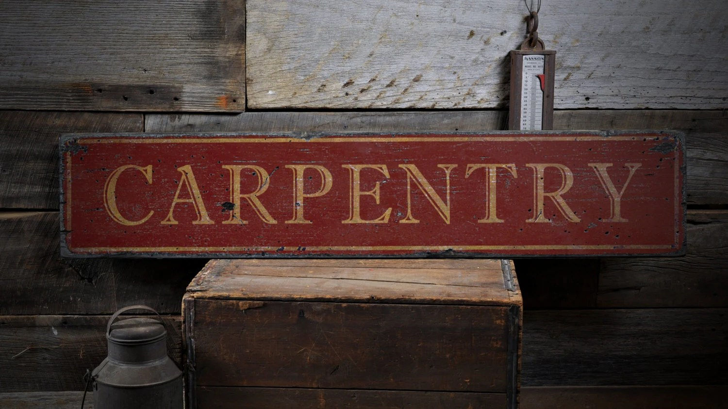 Carpenter Gift Carpentry Sign Custom Carpenter Gift