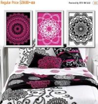 Hot Pink And Black Wall Decor - Bestsciaticatreatments.com