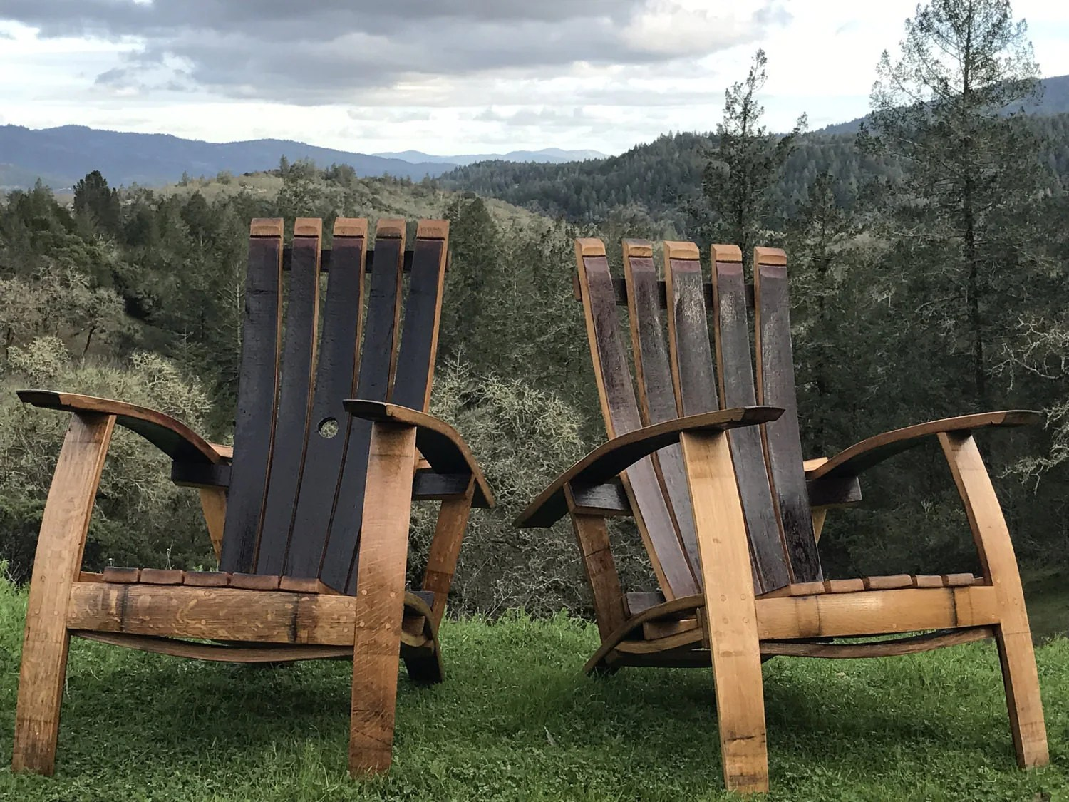 wine adirondack chair massage therapy chairs for sale barrel set napa valley