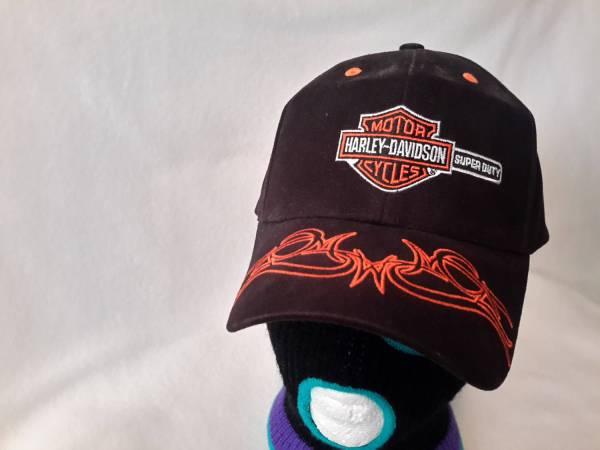 Vintage Harley Davidson Dad Hat Strapback Motorcycle