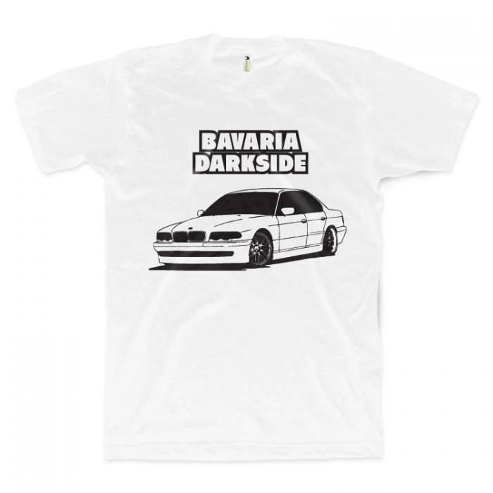BAVARIA DARKSIDE BMW E38 t-shirt