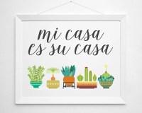 Items similar to Mi Casa Es Su Casa