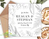 Rustic Save The Date • ...