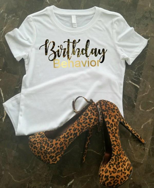 Birthday T Shirt Women Girl