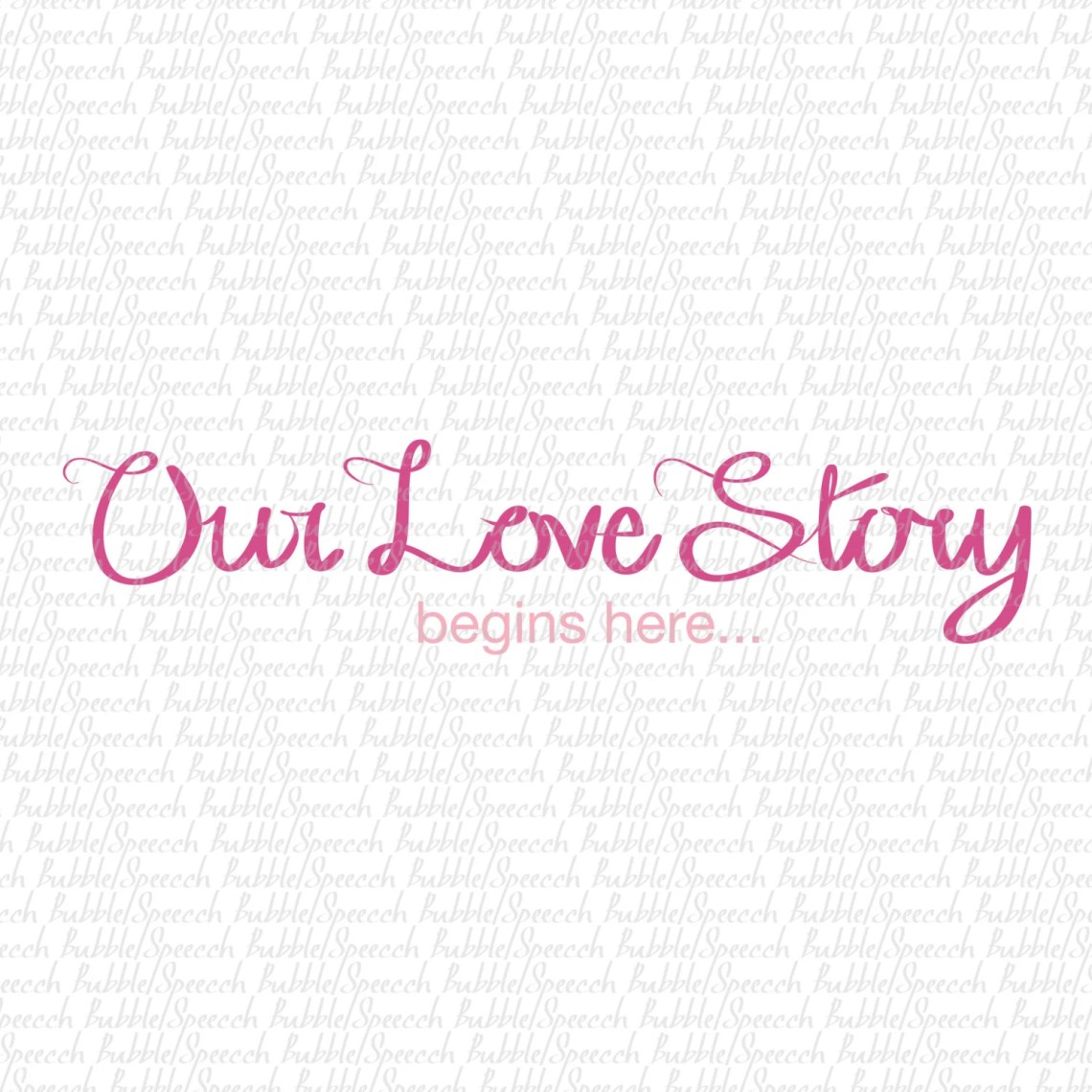 Download Our Love Story begins here Svg clip art vector by by ...