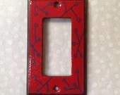Enamel switch plate,...
