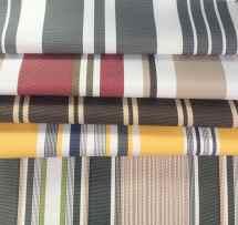Outdoor Striped Waterproof Canvas Fabric 60 600 Denier