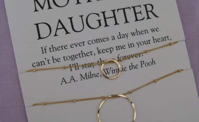 Mom Mother Daughter Jewelry 50th Birthday Gift By Azaleaplum