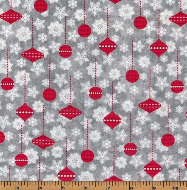 Henry Glass Holiday Frost Fabric