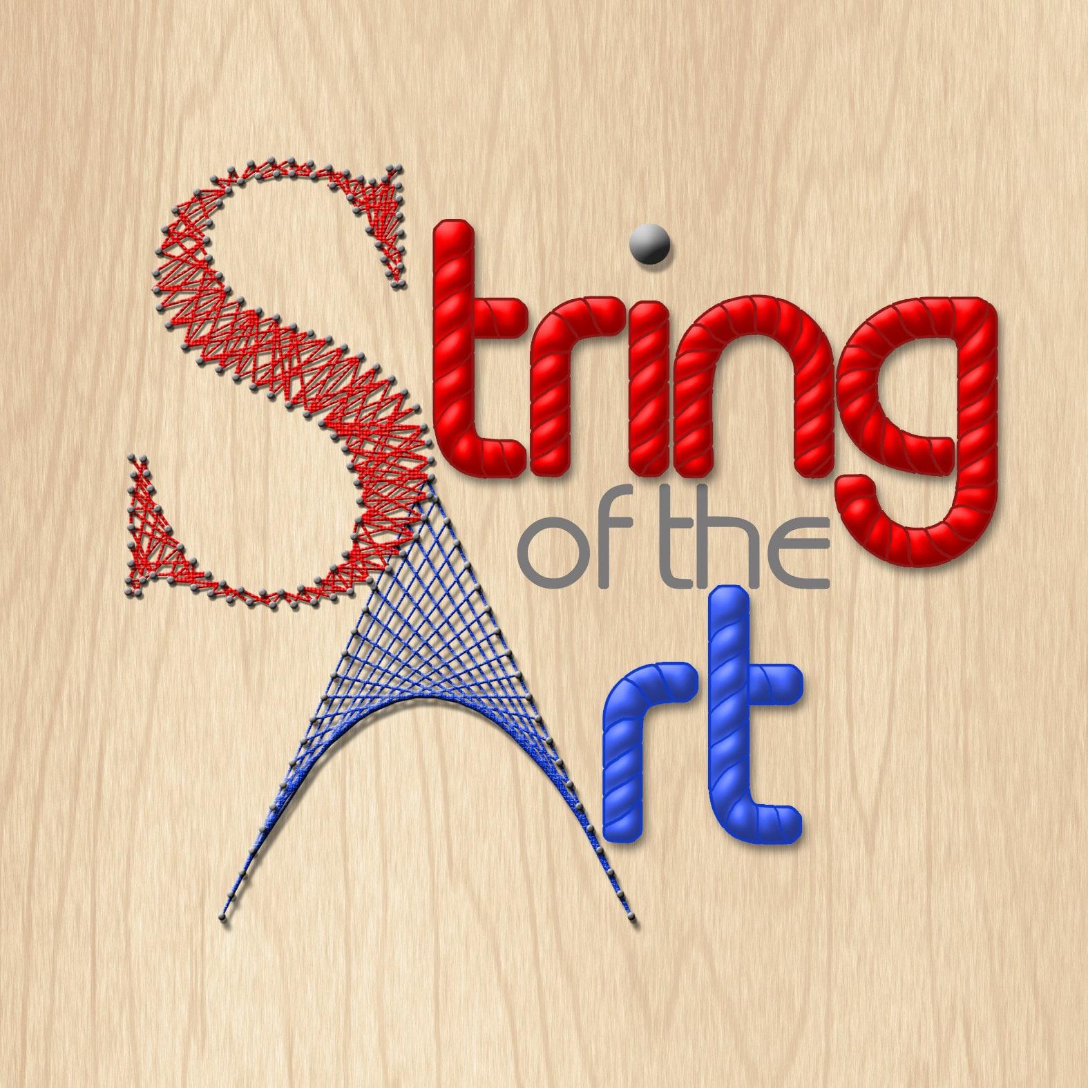 Fun And Beautiful Diy String Art Kits By Stringoftheart On Etsy