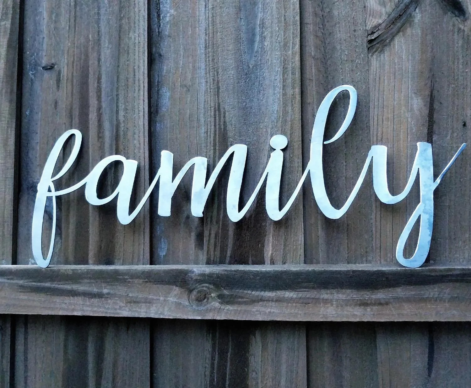 Metal Family Sign The Word Family Family Sign Metal