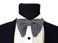 Big Bow tie Tom Ford inspired bowtie Bowtie Pre-Tied Silk