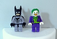 Lego Batman and Joker Cake Topper 100% Edible by ...