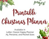 Christmas Holiday Planner...