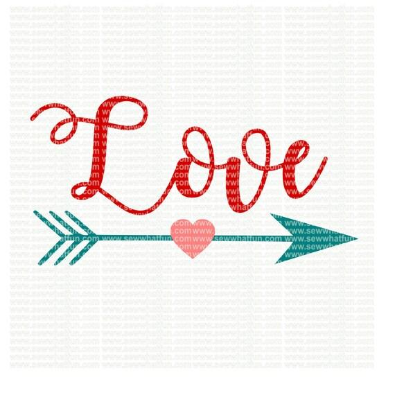 Download LOVE Arrow SVG cutting file Arrows vinyl file svg