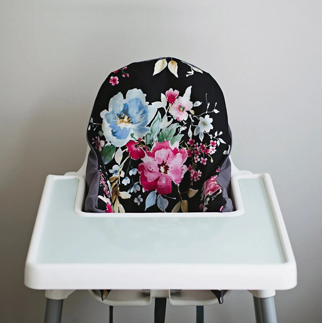 ikea high chair review covers hire uk watercolor floral antilop highchair cover