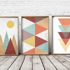 Living Room Wall Paint Finish Remodeling Ideas For Geometric Art – Home Decor
