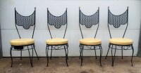 Metal high chair | Etsy