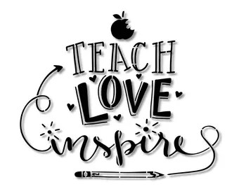 Download Teacher stencils | Etsy