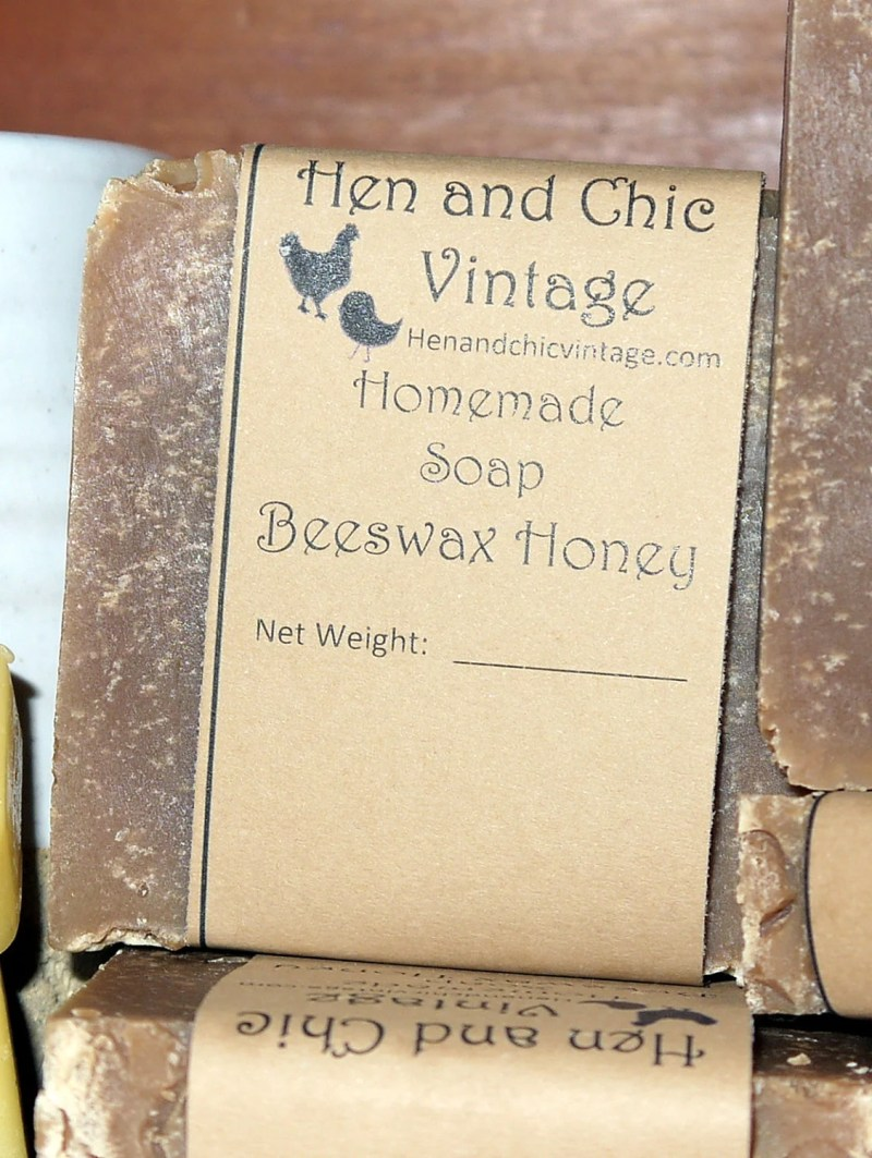 Handmade Beeswax Honey Soap No Artificial Colors, Dyes. Organic. Cold Process Soap, Local