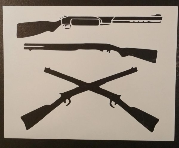 Shotgun Shotguns Shot Guns Gun Custom Stencil Fast Free