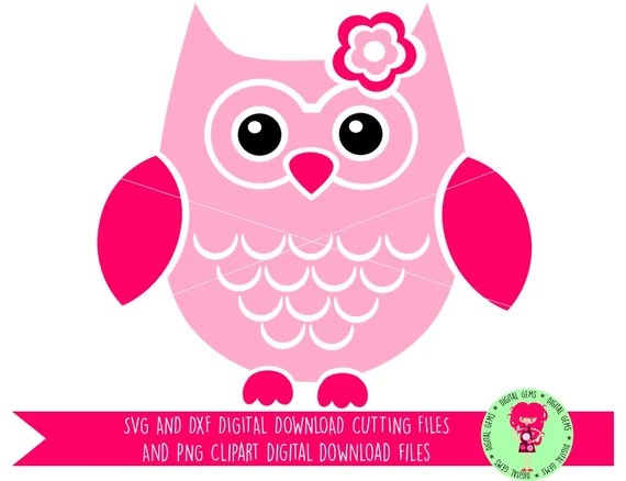 Download Owl SVG / DXF Cutting Files for Cricut Design Space
