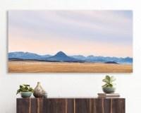 large colorful landscape, large canvas wall art, large ...