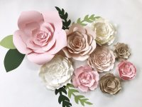 Paper Flower Wall Decor large paper flower backdrop giant