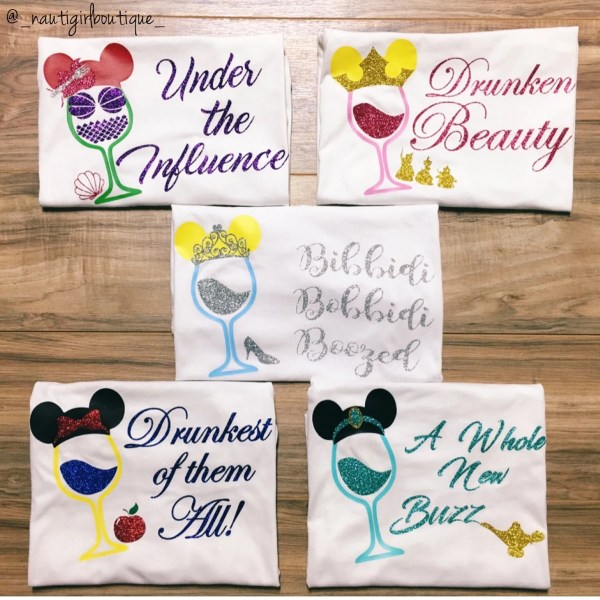 74d361d028 Food And Wine Disney Princess Shirts - Year of Clean Water