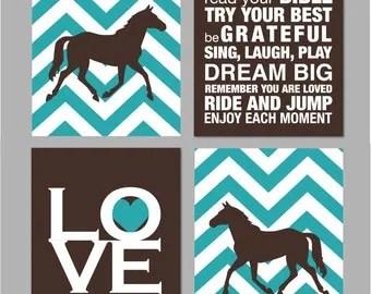 horse room decor   etsy