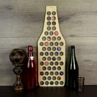 Beer Bottle Cap Holder Wood Beer Cap Display Beer Cap Wall