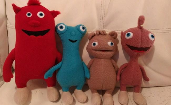 Plush Toys Just Like Cuddlies All Four By Littleelfscro On