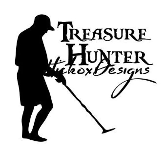 Metal Detecting Svg, Treasure Hunt Svg, Dxf For Silhouette