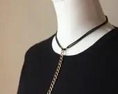 Vintage Brass Chain Verti...