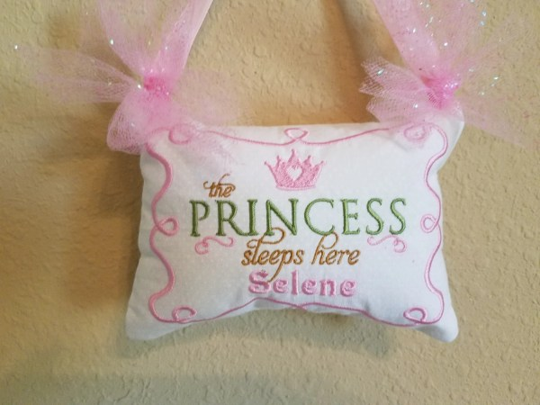 Personalized Baby Pillow