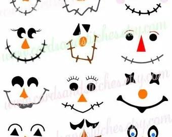 scarecrow faces