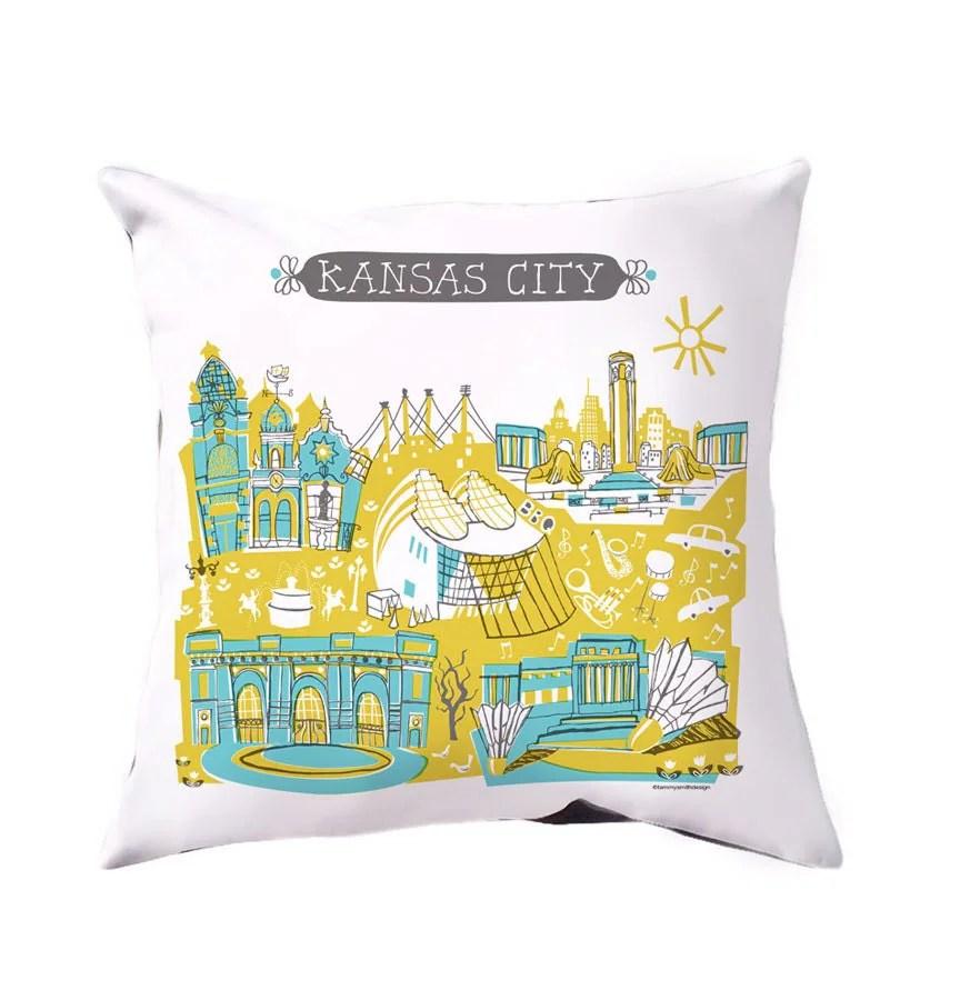 Kansas City Pillow CoverHome