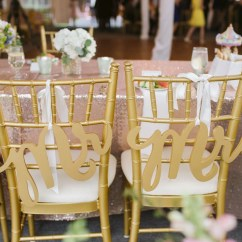 Mr And Mrs Chair Signs Hayneedle Adirondack Chairs Wedding For