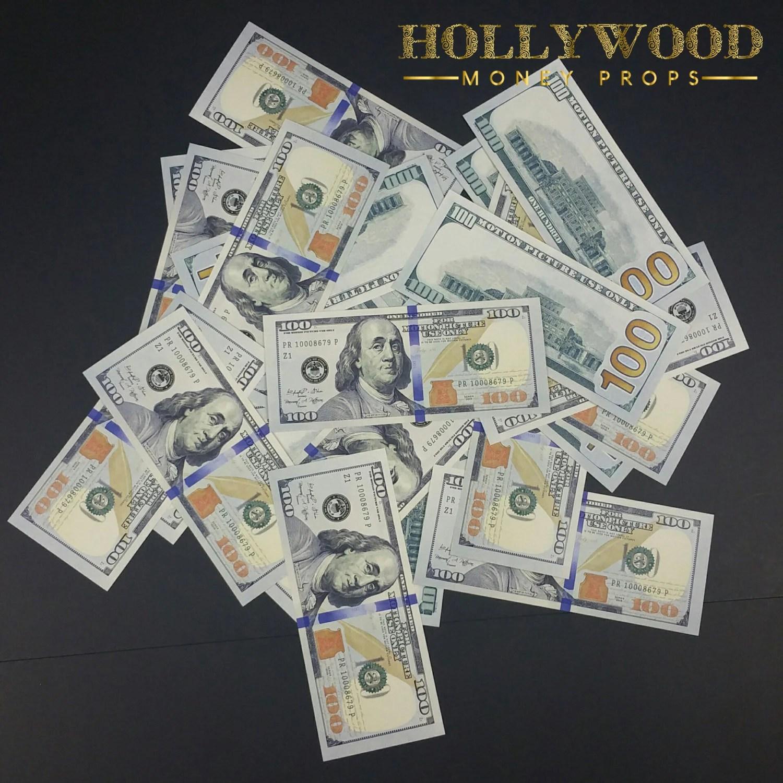 100 Dollar Bill X100 10k Stack New Series Full Print Best