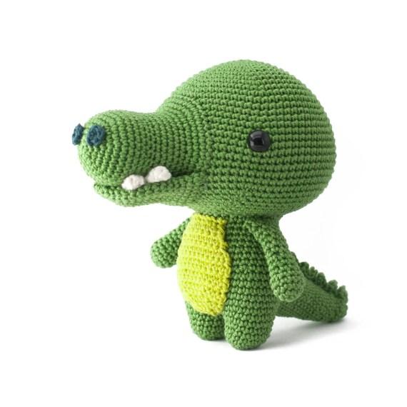 Toto de Crocodile amigurumi crochet pattern PDF
