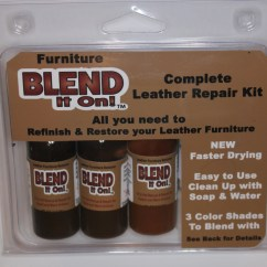 Faux Leather Chair Repair Desk Wooden Furniture Color Kit | Roselawnlutheran