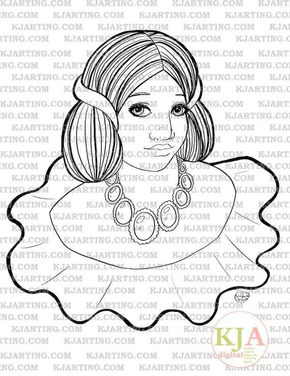 Formal Line_Art Printable_00277 KJArting